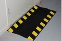 Picture of Cable Safety Mat #833 - Black With Chevron Yellow Sides - 500mm x 1000mm-MATT359710- (EA)