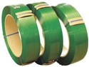 Picture of Polyester (PET) Strapping 19mm x 1mm x 800m Green Embossed -STRP693150- (EA)