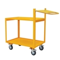 Picture of Warehouse Trolley - 2 Tier with Extended handle and Writing Shelf-WARE663420- (EA)