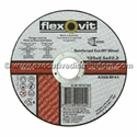 Picture of Cutting Disk 5in(125mm) x 2.5mm x 22mm - Flexovit 1012722-WHEE765060- (BOX-25)