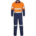 Picture of Coveralls -Patron Saint Flame Fire Retardant Orange / Navy with Reflective tape-CLTH832220- (EA)