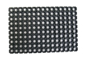 Picture of Economy Rubber Mat -Antifatigue and Drainage - 600mm x 400mm Black-MATT359041- (EA)