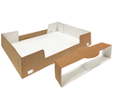 Picture of Catering Tray with Collar - 447mm x 308mm x 82mm - Kraft Brown (Lids sold Seperatly)-TRAY165526- (CTN-50)