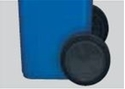 Picture of Replacement Wheel to Suit 120 & 240L Wheelie Bins-BINS386565- (EA)