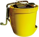 Picture of Mop Bucket 15lt with castors and wringer-BUCK369455- (EA)
