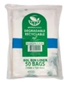 Picture of Garbage Bin Liners 80L Clear Biodegradable - 1000 x 760mm-GARB025575- (CTN-250)