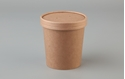 Picture of 16oz Betakraft Eco Food Container and Lid Combo - 97mm x 75mm x 100mm-BIOD079420- (CTN-250)