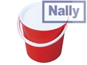 Picture of Plastic Nally Round Storage Container / Bin / Bucket  - 13.6L/3G-STOR900705- (EA)