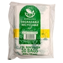 Picture of Garbage Bin Liners 75L Clear Biodegradable - 940 x 745mm-GARB025357- (CTN-250)
