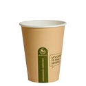 Picture of 12oz Biodegradable Single Wall Kraft Coffee Cup-BIOD076202- (CTN-1000)