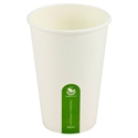 Picture of 16oz Biodegradable Single Wall White Coffee Cup-BIOD076224- (CTN-1000)