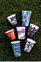 Picture of 12oz Biodegradable Single Wall Coffee Cup - Gallery Series (Mixed Print Selection)-BIOD076232- (CTN-1000)