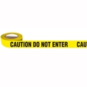 "Picture of **IL**Printed Barricade Tape - ""Caution Do Not Enter"" - 75mm x 150m-WARN833220- (EA)"