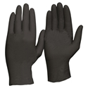 Picture of Black Heavy Duty Nitrile Gloves, Powder Free-GLOV477265- (BOX-100)