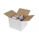 Picture of Cardboard Carton 340 x 250 x 120mm White-CTNS570520- (SLV-25)