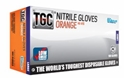 Picture of Gloves Nitrile High Visability - Orange-GLOV477200- (CTN-1000)