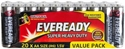 Picture of AA Battery 1.5v - 1 Eveready Super Heavy Duty Carbon Zinc-BATT347056- (PACK-20)