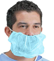 Picture of Beard Cover Blue non woven - Double Loop - Pharmpak-APPR492964- (CTN-2000)