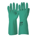 Picture of Gloves Nitrile Chemical H/D 33cm Green-GLOV477300- (PAIR)