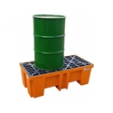 Picture of Bunded Pallet - 2 Drum PE Forkliftable-MSAF838905- (EA)