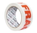 "Picture of Tape - Printed - ""Glass With Care"" Red on White 48mm x 66m-PTAP510890- (CTN-36)"