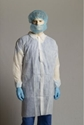 Picture of Disposable Non-Woven Labcoat White-APPR495221- (CTN-100)