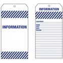 Picture of Tag PVC - INFORMATION-LABE642570- (PACK-100)