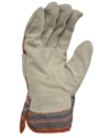 Picture of Candy Stripe Leather Gloves Split Palm-LGLV795160- (PACK-12PR)
